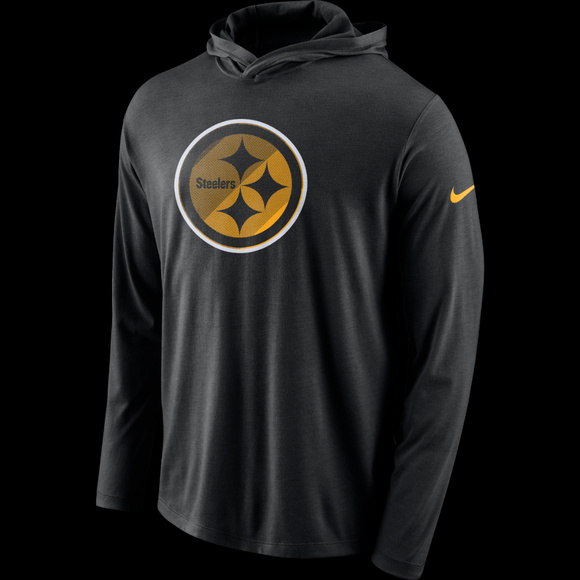 cheap for discount b3cdb 0f005 Nike Pittsburgh Steelers Nike Hoodie Medium NEW NWT